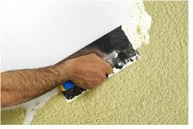 Alisar paredes y techos